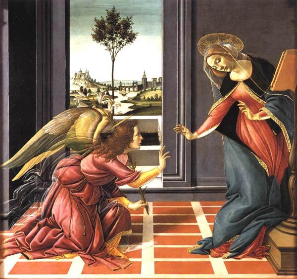Annunciation_Botticelli