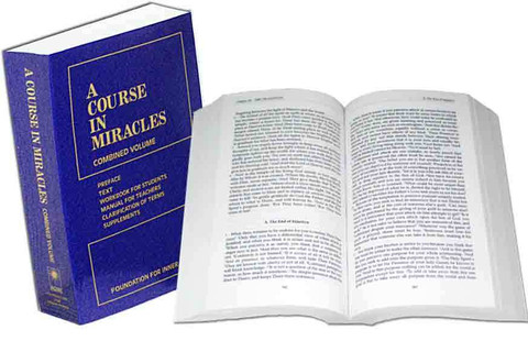 Image result for a course in miracles book
