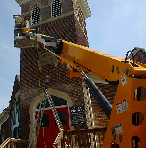 Building & Grounds News   Unity Church in Albany
